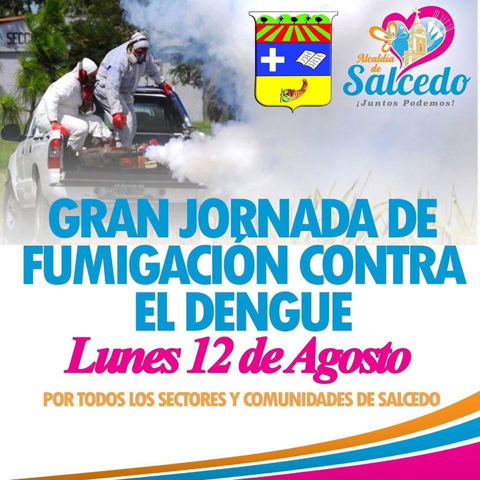 Jornada De Fumigacion Contra El Dengue