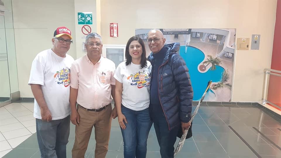 RECIBIMIENTO A LOS SALCE-DENTES   AUSENTES